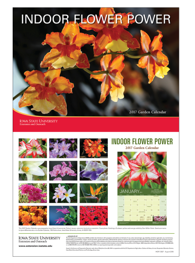 Indoor Flower Power -- Calendar preview image
