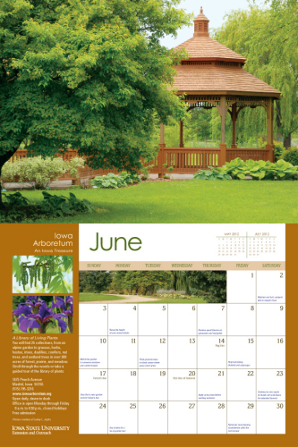 2012 Garden Calendar Now Available Horticulture and Home Pest News