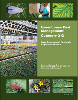 Cover of Extension certification manual, Greenhouse Pest Managment