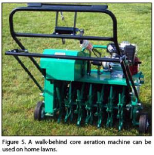 Core aerification machine