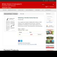 Selecting a Termite Control Service